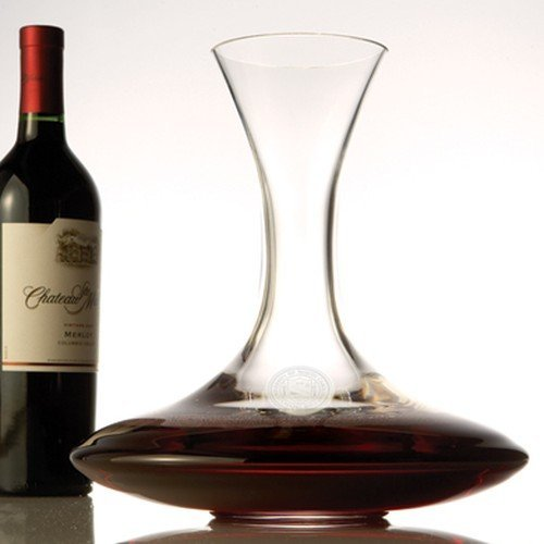 UNC Lead Crystal Ships Decanter