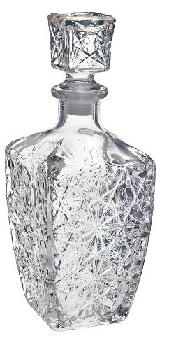 Bormioli Rocco Dedalo 33-3/4-Ounce Decanter with Stopper